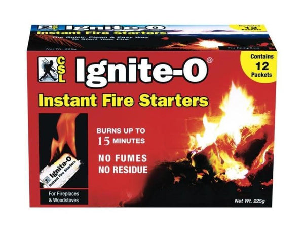 CSL Ignite O-Fire Starter 12 Pack, 85500 - Stove Parts 4 Less