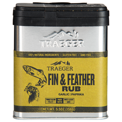 Traeger Grills Fin & Feather Seasoning Rub 5.5oz, SPC176 - Stove Parts 4 Less