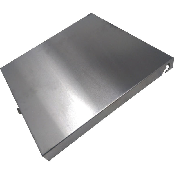 Green Mountain Jim Bowie Prime Plus Grills Stainless Steel Hopper Lid with Latch, P-1238