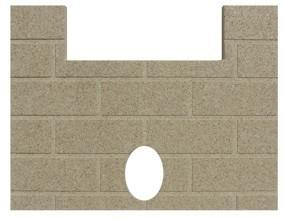 Whitfield #13046500 Firebrick Prodigy l & ll, Renaissance & WP3. #PP1003 - Stove Parts 4 Less