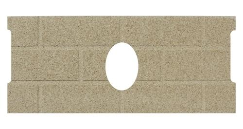 Whitfield # 13646500, Quest Firebrick. PP1004 - Stove Parts 4 Less