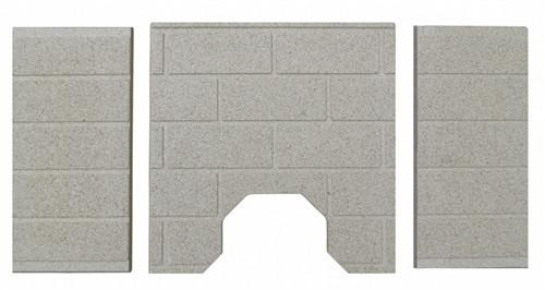 St. Croix Hastings 80P53981 , Pepin and Greenfield Firebrick Set, PP1041 - Stove Parts 4 Less