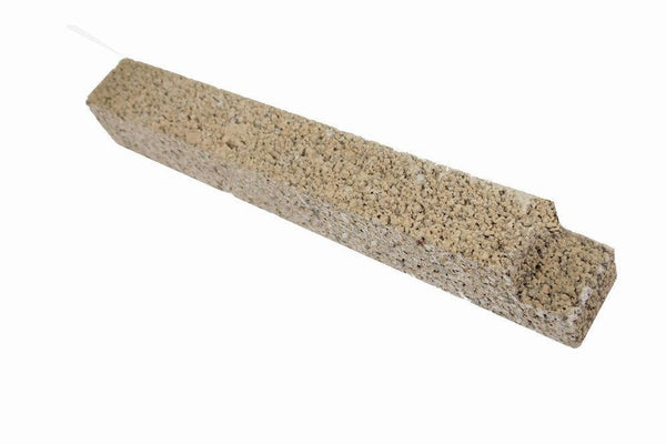 "Firebrick 1-1/4"" Thick notched top 1"" x 9"". Replaces Earth Stove brick FB9, PP1909 - Stove Parts 4 Less"