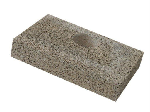 "Firebrick 1-1/4"" Thick W/Hole - 4-1/2"" x 7"" Fits Quadrafire 21-M. Replaces Quadrafire part # SRV473-0370, PP1951 - Stove Parts 4 Less"