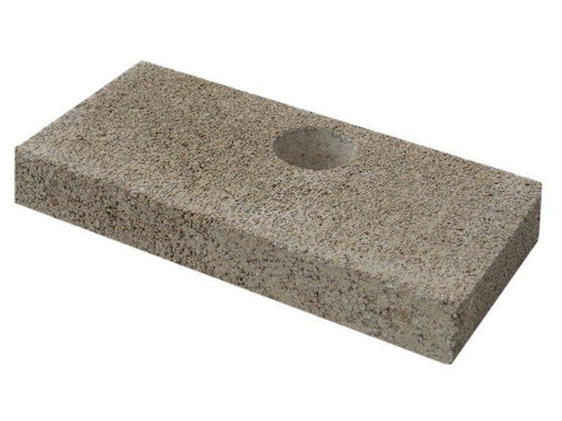 "Firebrick, 1-1/4"" With Hole - 4-1/2"" x 9"" Fits Quadra-Fire 31, 43, 57 & CG. Replaces Quadrafire part # SRV436-0380 - Stove Parts 4 Less"