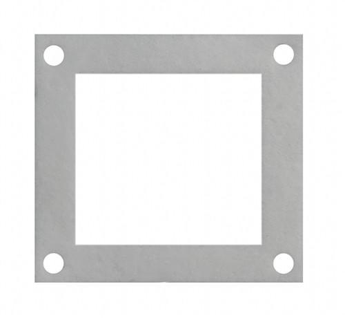 "Convection Blower Gasket Square 4.25"" X 4"" OD - Stove Parts 4 Less"