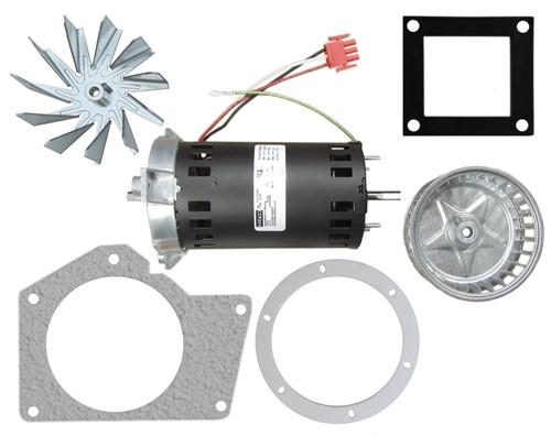 Exhaust Convection Blower Motor Rebuild Kit For Whitfield / Lennox Cascade Stoves. Replacement# 17140110. PP7400 - Stove Parts 4 Less