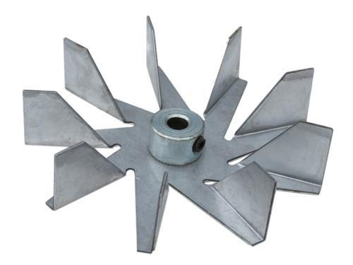 "Quadrafire Exhaust Blower Impeller 4.44""-9 Petal, PP7902 - Stove Parts 4 Less"