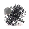 "3"" Round Pellet Stove Vent Brush, fitting is 1/4""-20 thread. by Rutland. #PS-3"