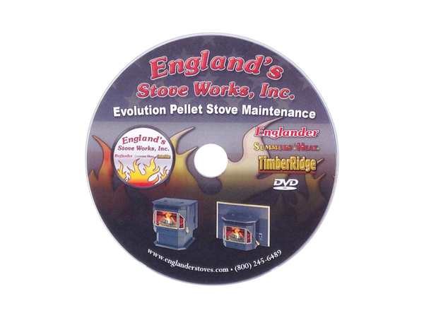 Englander DVD Service Video for EP Models, # PU-DVDEP - Stove Parts 4 Less