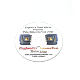 Englander DVD Service Video for Pellet Units Pre 2004 PU-SCD - Pellet Stove Parts 4 Less