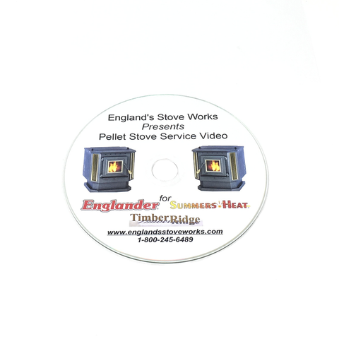 Englander DVD Service Video for Pellet Units Pre 2004 PU-SCD - Stove Parts 4 Less