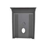 Piazzetta Cast Iron Rear Baffle #pzrp.re05041230