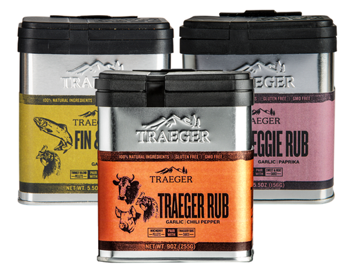 Traeger Grill Rubs Something For Everything Variety 3-Pack - Pack A - Big Savings!