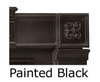 Napoleon CFSK-A Black Cast Iron Surround Kit for GVF36 Fireplaces, CFSK-A
