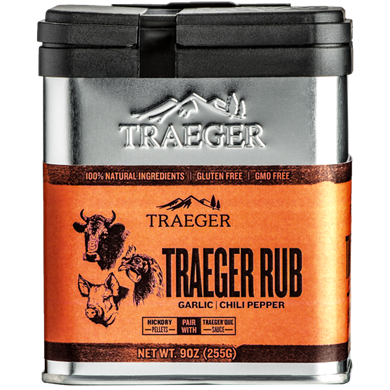 Traeger Garlic & Chili Pepper Seasoning Rub 9 oz, SPC174 - Stove Parts 4 Less