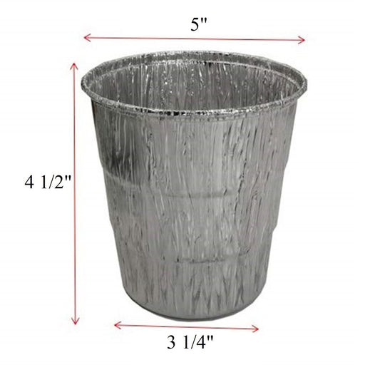Grease Bucket Liners For Pellet Grills 5 Pack