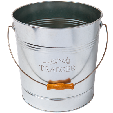 Traeger 20LB Steel Metal Bucket For Pellets, BAC430 - Stove Parts 4 Less