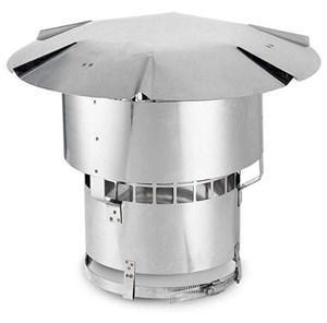 "Oympia 3"" Chimney Cap for Flex Pipe. #CAP3 - Stove Parts 4 Less"