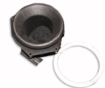 Quadrafire Classic Bay 1200 EZ Clean Fire Pot Replacement, (20085) 812-3351-AMP - Stove Parts 4 Less
