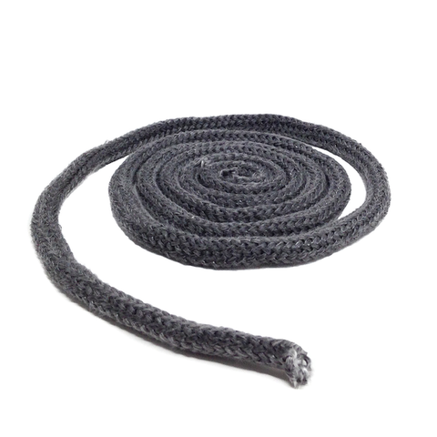 "5/8"" Round Black Medium Density Gasket - Sold in 5' Increments - (RT 325N) - Stove Parts 4 Less"