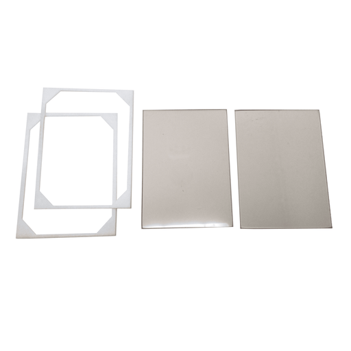 Buck Double Door Glass Kit With Gaskets, PA500027