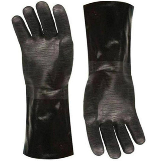 Large Pit Glove Insulated waterproof / oil & heat resistant BBQ, Smoker, Grill, & Cooking Gloves - Stove Parts 4 Less