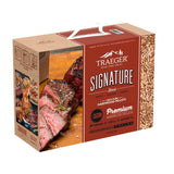 Traeger 100% All Natual Hardwood Signature Blend Pellets 10LB Box, PEL330 - Stove Parts 4 Less