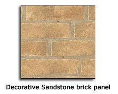 Napoleon Sandstone Brick Panel GDS60 DV, GDS819KT - Stove Parts 4 Less