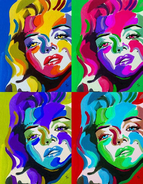 Marilyn Monroe pop-art