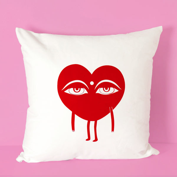 Buddhist Heart XL pillow