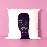 African head XL pillow