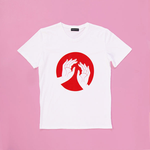 Hands In Circle T shirt