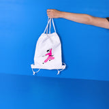 Karate small drawstring backpack