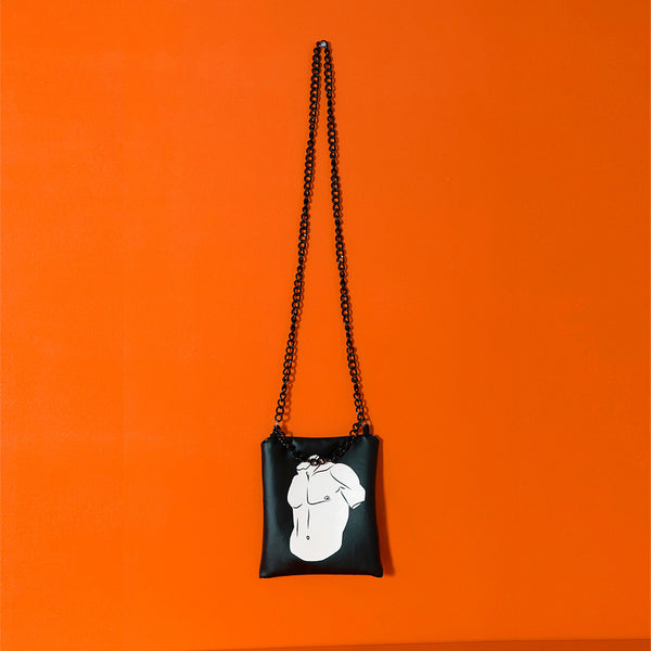 Torso small shoulder bag