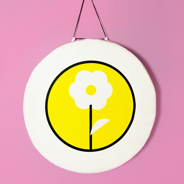 Yellow Flower soft wall piece