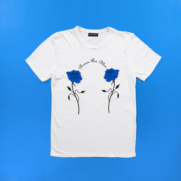Roses are Blue T shirt