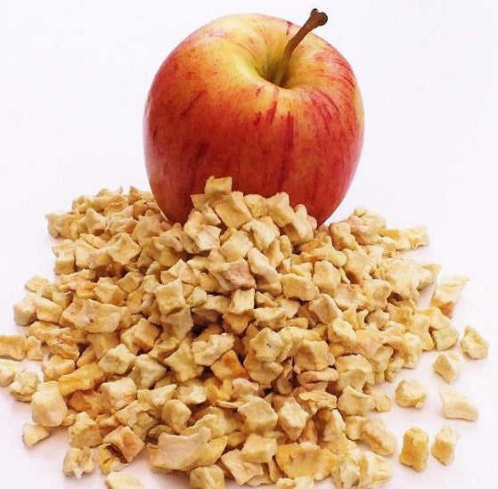 Apple Cubes dried 1kg loose