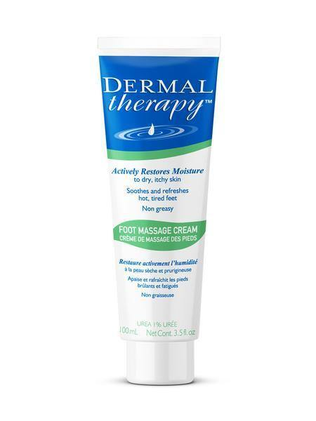 DTR Dermal Therapy Foot Massage Cream- 1% Urea 1% Lactic Acid (Alpha Hydroxy Acid)