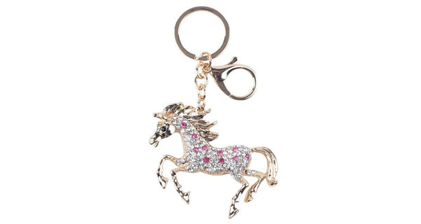 Enamel Alloy Horse Key Chain Key Ring