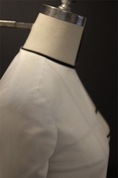 Sleeve with shoulder panel