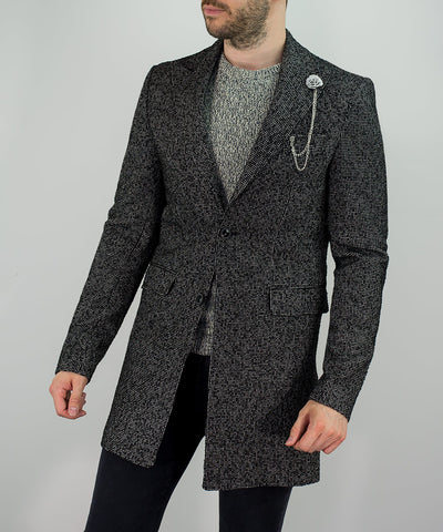 House Of Cavani Signature Collection Abe Overcoat