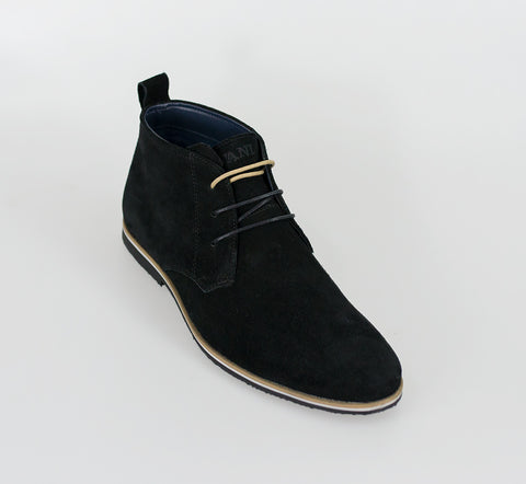 House Of Cavani Signature - Desert Boots Black