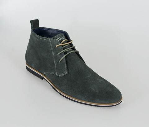 House Of Cavani Signature - Desert Boots Grey