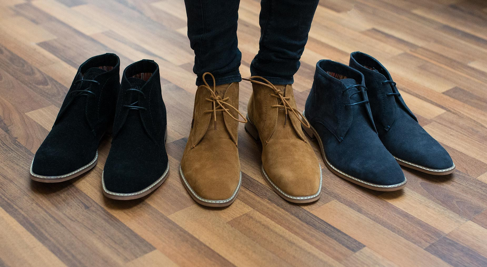 House Of Cavani James Lace Up Suede Boots