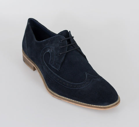 House Of Cavani Signature - Liam Navy Shoes