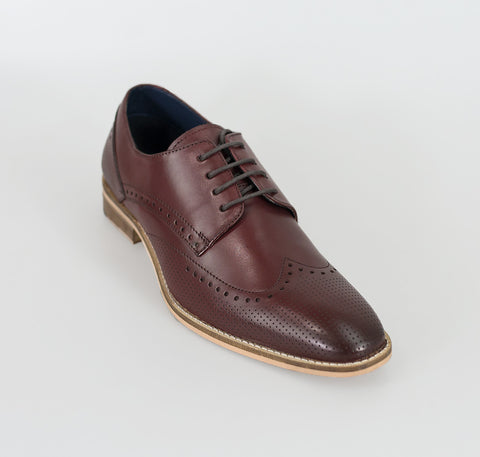House Of Cavani Signature - Rome Cherry Shoes