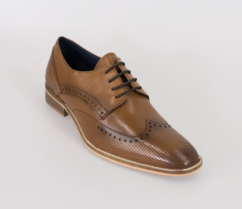 House Of Cavani Signature - Rome Tan Shoes