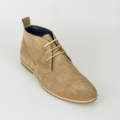 House Of Cavani Signature - Desert Boots Beige