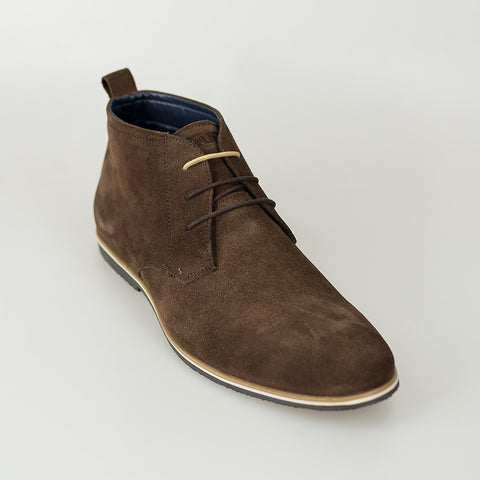 House Of Cavani Signature - Desert Boots Brown
